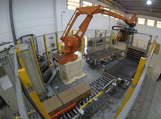Braço Robótico Industrial