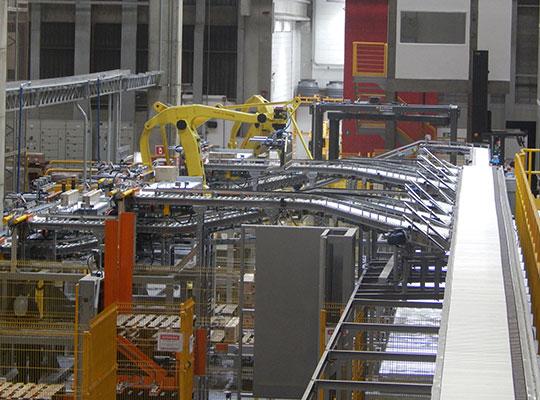 Linhas de Produção Automatizadas